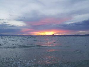 Reisen - Sonnenuntergang auf Palawan