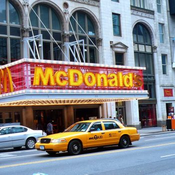 Reiseziele USA - New York City McDonalds